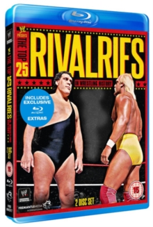 WWE: Top 25 Rivalries, Blu-ray  BluRay