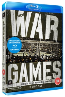 WWE: War Games - WCW's Most Notorious Matches, Blu-ray  BluRay