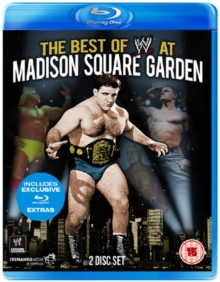 WWE: The Best of WWE at Madison Square Garden, Blu-ray  BluRay