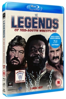 WWE: Legends of Mid-South Wrestling, Blu-ray  BluRay
