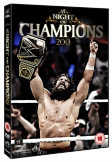 WWE: Night of Champions 2013, DVD  DVD