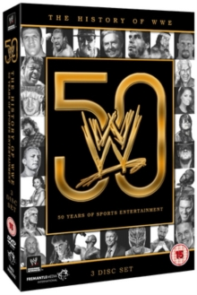 WWE: The History of WWE - 50 Years of Sports Entertainment, DVD  DVD