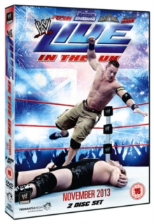 WWE: Live in the UK - November 2013, DVD  DVD