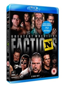 WWE: Wrestling's Greatest Factions, Blu-ray  BluRay