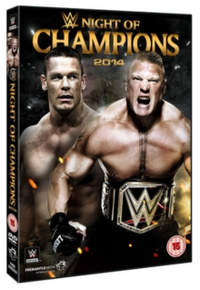 WWE: Night of Champions 2014, DVD  DVD