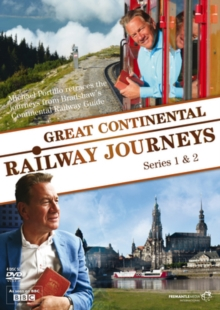 Great Continental Railway Journeys: Series 1 and 2, DVD  DVD