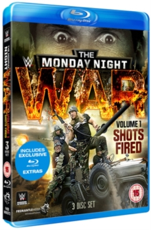 WWE: Monday Night War - Shots Fired: Volume 1, Blu-ray  BluRay