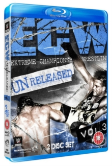 WWE: ECW - Unreleased Volume 3, Blu-ray  BluRay