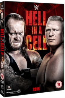 WWE: Hell in a Cell 2015, DVD  DVD