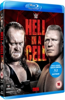 WWE: Hell in a Cell 2015, Blu-ray  BluRay
