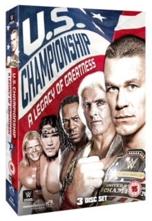 WWE: United States Championship - A Legacy of Greatness, DVD DVD