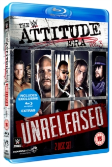 WWE: Attitude Era Vol. 3 - Unreleased, Blu-ray BluRay
