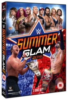WWE: Summerslam 2016, DVD DVD