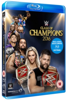WWE: Clash of Champions 2016, Blu-ray BluRay