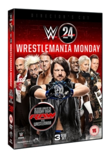 WWE: Wrestlemania Monday, DVD DVD