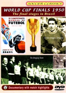1950 World Cup - The Final Stages, DVD  DVD