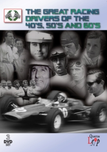 The Great Racing Drivers of the '40s, '50s and '60s, DVD DVD