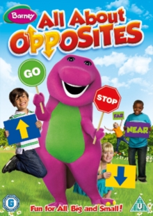 Barney: All About Opposites, DVD  DVD