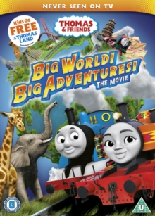 Thomas & Friends: Big World! Big Adventures! The Movie, DVD DVD