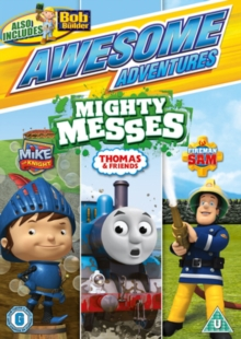 Awesome Adventures: Mighty Messes, DVD  DVD