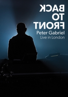 Peter Gabriel: Back to Front, DVD DVD