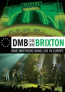 Dave Matthews Band: Brixton - Live in Europe, DVD DVD