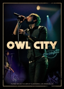 Owl City: Live from Los Angeles, DVD  DVD