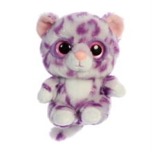 Alisha Snow Leopard 5 Inch Soft Toy,  Book