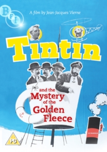 Tintin and the Mystery of the Golden Fleece, DVD  DVD
