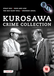 Kurosawa Crime Collection, DVD  DVD