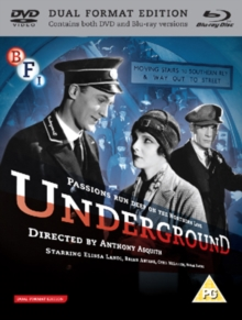 Underground, Blu-ray  BluRay