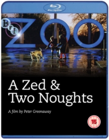 A   Zed and Two Noughts, Blu-ray BluRay