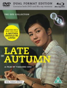 Late Autumn, DVD  DVD
