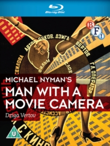 Man With a Movie Camera (Michael Nyman), Blu-ray  BluRay
