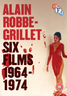 Alain Robbe-Grillet: Six Films 1964-1974, DVD  DVD