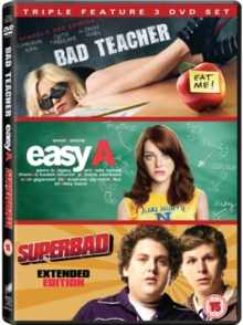 Bad Teacher/Easy A/Superbad, DVD  DVD