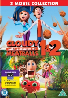 Cloudy With a Chance of Meatballs 1 and 2, DVD  DVD