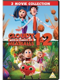 Cloudy With A Chance Of Meatballs 1 And 2 Phil Lord Bill Hader 5035822146624 Hive Co Uk
