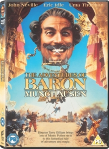 The Adventures of Baron Munchausen, DVD DVD