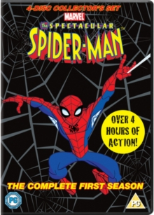 The Spectacular Spider-Man: Volumes 1-4 - Complete First Season, DVD DVD