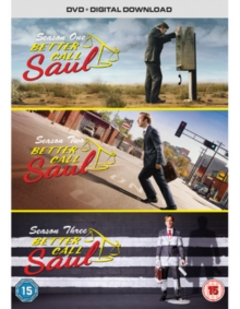 Better Call Saul: Complete Seasons One, Two and Three, DVD DVD