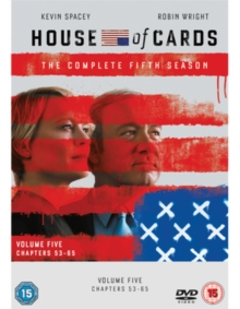 House of Cards: The Complete Fifth Season, DVD DVD