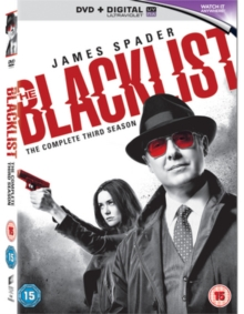 The Blacklist: The Complete Third Season, DVD DVD