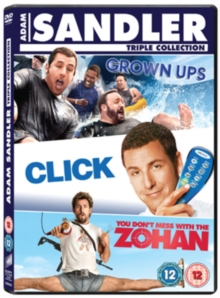 Click/Grown Ups/You Don't Mess With the Zohan, DVD  DVD