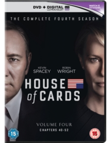 House of Cards: The Complete Fourth Season, DVD DVD