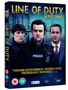 Line of Duty: Series Three, DVD DVD