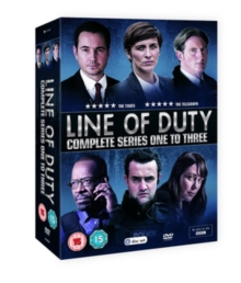 Line of Duty: Complete Series One to Three, DVD DVD