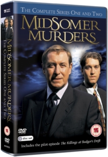 Midsomer Murders: The Complete Series One and Two, DVD  DVD