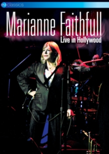 Marianne Faithfull: Live from the Henry Fonda Theatre, Hollywood, DVD  DVD