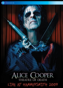 Alice Cooper: Theatre of Death - Live at Hammersmith 2009, DVD DVD